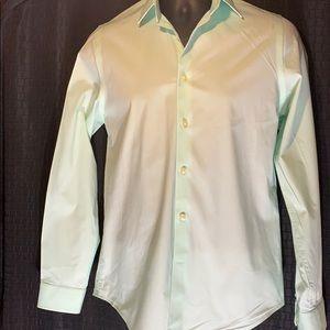Men's Express mint green shirt size S